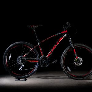 Outrage 603 BLACK RED